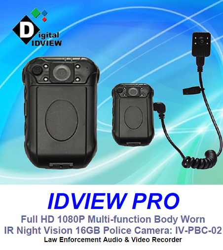 IDView Pro Body Worn Night Vision Police Camera near me